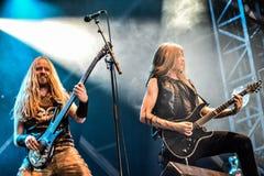 Heidevolk folk metal band live in concert 2016 Royalty Free Stock Photography