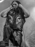 Heidevolk folk metal band live in concert 2016 Royalty Free Stock Image