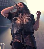 Heidevolk folk metal band live in concert 2016 Stock Photography