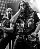 Heidevolk folk metal band live in concert 2016 Stock Photo