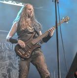 Heidevolk folk metal band live in concert 2016 Stock Image