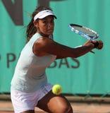 Heidi EL TABAKH (KÖNNEN Sie), bei Roland Garros 2010 Lizenzfreie Stockbilder