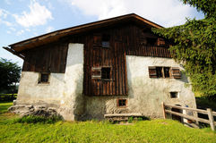 heidi hus s Arkivbild