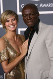 Heidi Klum,Seal Stock Photography