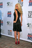 "Heidi Montag. At the Race to Erase MS ""Orange Pass"" Shopping Benefit, Melrose Place District, Los Angeles, CA. 07-16-08 Stock Image"