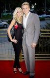 Heidi Montag e Spencer Pratt fotografie stock