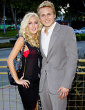 Heidi Montag e Spencer Pratt immagine stock libera da diritti