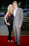 Heidi Montag et Spencer Pratt Photos stock