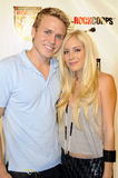 Heidi Montag and Spencer Pratt on the red carpet Royalty Free Stock Image