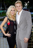 Heidi Montag y Spencer Pratt foto de archivo
