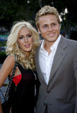 Heidi Montag y Spencer Pratt Foto de archivo libre de regalías