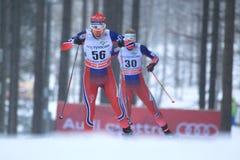 Heidi Weng - Cross Country-Skifahren Stockfotografie