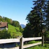 Heidiland in Switzerland Stock Photos