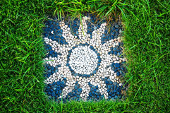 Heidnisches Sonnenzeichen stockfotografie