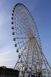 Height 150 meters, diameter of 120 meters, composed of 60 capsules of rainbow color wheel Royalty Free Stock Image