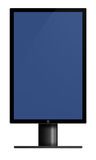 Height Screen Monitor Royalty Free Stock Photo