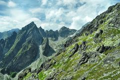 Height Tatras Stock Image
