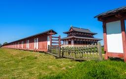 Heijo slott, Nara royaltyfri foto
