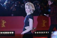 Heike Makatsch pozy na czerwonym chodniku Zdjęcie Royalty Free