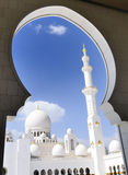 Heikh Zayed Mosque in Abu Dhabi, Stock Photography