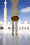 Heikh Zayed Mosque in Abu Dhabi, Royalty Free Stock Photos