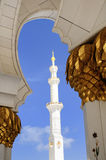 Heikh Zayed Mosque in Abu Dhabi, Royalty Free Stock Photo