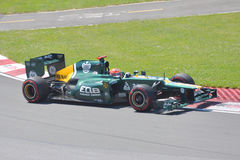 Heikki Kovalainen in 2012 F1 Canadian Grand Prix Stock Image