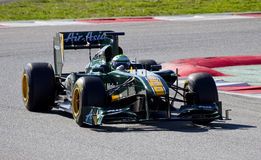 Heikki Kovalainen (Lotus) Royalty Free Stock Photography