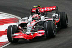 Heikki Kovalainnen McLaren Mercedes F1 2008 Royalty Free Stock Photo