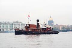 Heikki Peuranen vintage steamboat Royalty Free Stock Photos