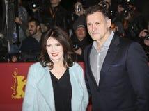 Heiko Kiesow and Iris Berben Royalty Free Stock Photo