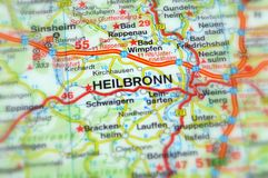 Heilbronn, rttemberg del ¼ de Baden-WÃ, Alemania - Europa Imagenes de archivo