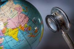Heilen Sie die Erde Lizenzfreie Stockbilder