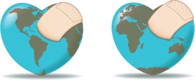 Heilen Sie die Welt Lizenzfreie Stockfotos