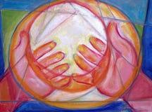 Heilende Hände Stockbilder