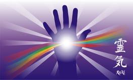 Heilende Hand Stockfoto