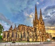 Heilig-Andre-Kathedrale von Bordeaux - Frankreich lizenzfreies stockfoto