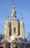 Heilig-Andrew-Kirche in St Petersburg Lizenzfreie Stockfotografie