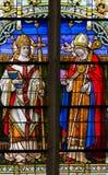 Heilig-Basilikum das große - Buntglas Stockfotografie