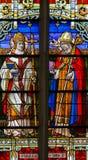 Heilig-Basilikum das große - Buntglas Stockbild