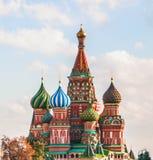 Heilig-Basilikum ` s Kathedrale im roten Quadrat, Moskau Lizenzfreies Stockbild