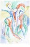 Heilig beeld, no.1 stock illustratie