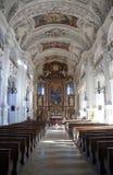 Heilig-Benedict-Basilika, Benediktbeuern-Abtei, Deutschland Lizenzfreie Stockfotos