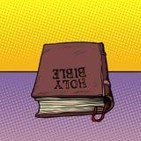 Heilig Bijbelboek Christendom en godsdienst vector illustratie