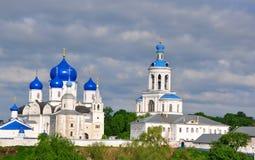 Heilig Bogolyubsky-klooster Bogolyubovo Rusland Royalty-vrije Stock Foto