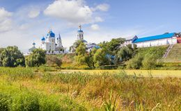 Heilig Bogolyubsky-klooster vladimir Rusland royalty-vrije stock afbeelding