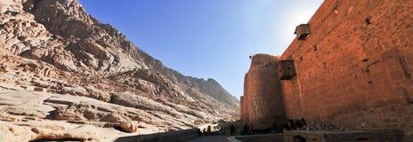 Heilig-Catherine Kloster - Sinai-Halbinsel, Ägypten Stockfotografie
