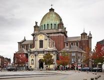 Heilig-Christophe-Kirche in Charleroi belgien Stockbild