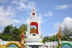 heilig ding met Koning van Nagas Stock Foto