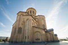 Heilig-Dreifaltigkeitskirche, Tiflis Sameba Catherdal Stockbild